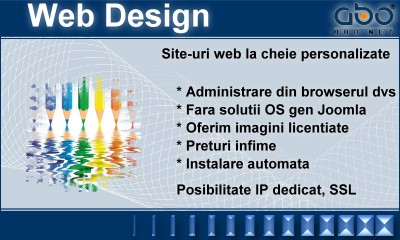 Web Design LIGHT Pagina gazduire pagina .com